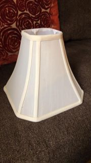 Small antique lamp shade