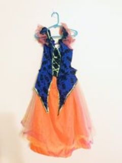 Girl s Halloween Costume Dress, it Lights Up Fairy Witch (size small 5 6)