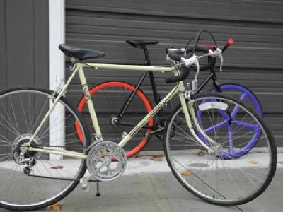 $50 Campagnolo road bike/fixed gear project 56-57 (Boise Bench)