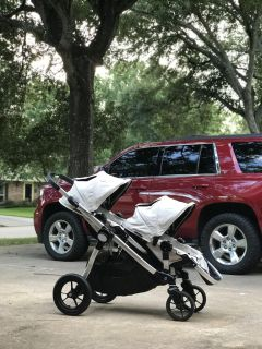 Baby jogger double city select stroller