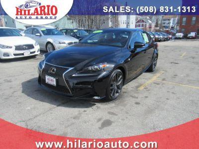 2016 Lexus IS ort (Obsidian)