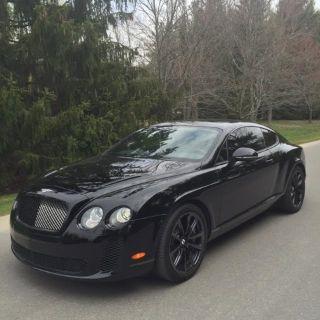 2010 Bentley Integra Base (Black Sapphire)