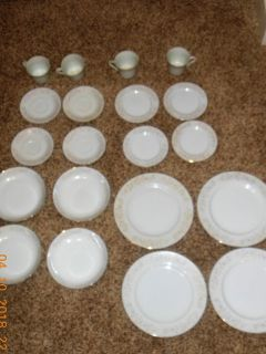 For Sale Antique China Florine by Vornado 20 piece China Dishes made in Japan