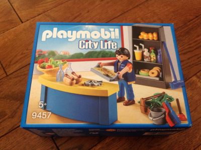 New, sealed Playmobil Cafeteria Set