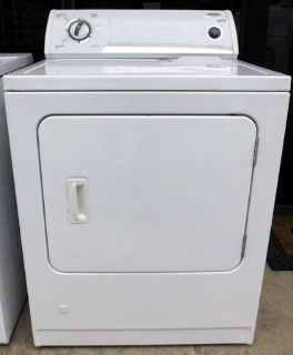 DRYER- WHIRLPOOL ELECTRIC WITH WARRANTY