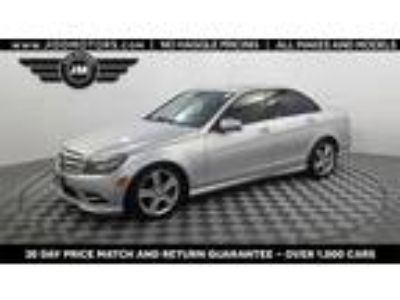 Used 2011 Mercedes-Benz C-Class Silver, 67.7K miles