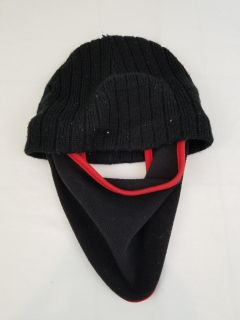 hat with face mask