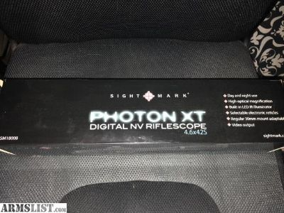 For Sale: Like new unused Photon XT
