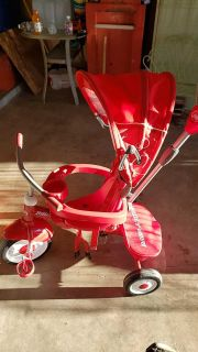 Radio flyer 4 in 1 stroller tricycle $30
