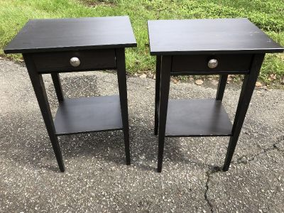 2 ikea end tables / night stands