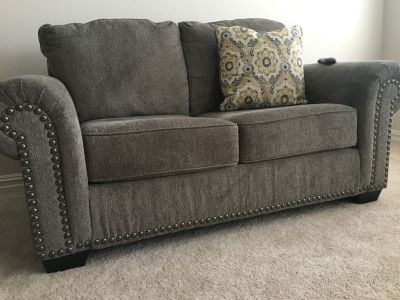 Loveseat and Oversized Chair