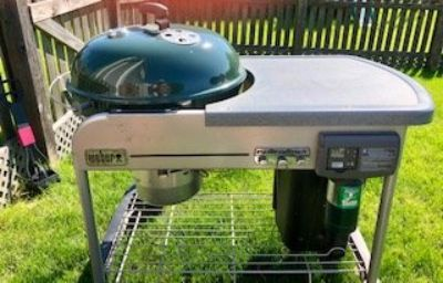Weber Performer Deluxe Grill 22""