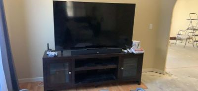 Very well cared for entertainment center