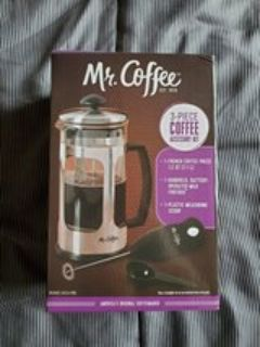 Mr. Coffee French Press Kit