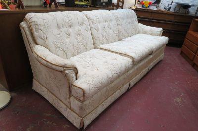 SALE! Vintage Mid century modern 3 seat sofa