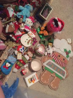 Extra large Christmas lot all for $5