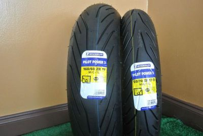 Purchase New 120/70ZR17 160/60ZR17 Michelin Pilot Power 3 2CT Tires 120/70/17 160/60/17 motorcycle in Hollywood, Florida, US, for US $299.94