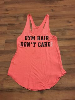 Vs pink xsmall gym/workout top