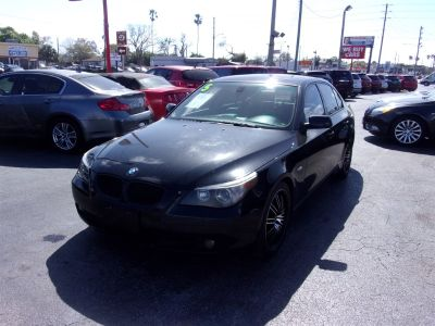 2005 BMW 5-Series 530i (Black)
