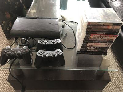 PS3 bundle with 16 games