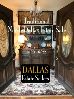 North Dallas Traditional Estate Sale