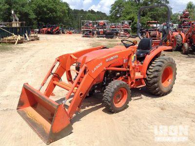 2016 Kubota L2501D 4WD Tractor
