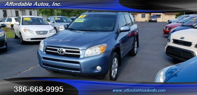2007 Toyota RAV4 Limited (Blue)