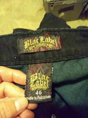 New Black label Jeans Mens size 46