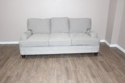 Bernhardt grey sofa in EXCELLENT CONDITION!!