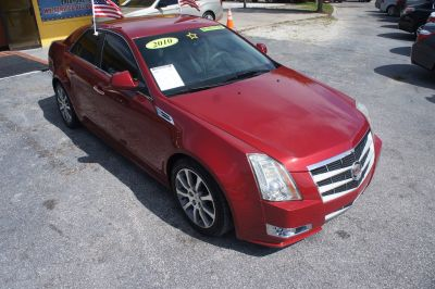 2010 Cadillac CTS 3.6L V6 Performance (Red)