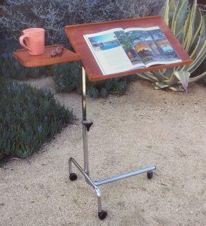 Vintage Danecastle rolling teak table