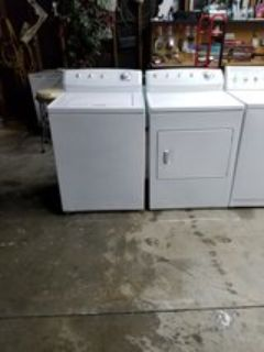 Frigidaire washer and dryer set heavy duty super capacity
