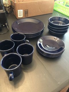Set of 4 Fiesta dishes