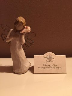 Perfect condition willow tree angel