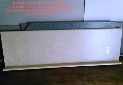 COUNTERTOPS: Granit, Corian solid surface, Formica, other materials...