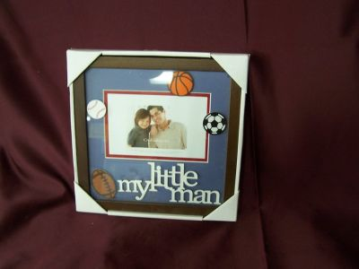 Croft and Barrow My Little Man Picture Frame