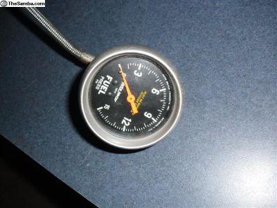 ProStock VW Autometer Fuel Pressure Gauge