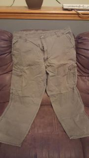 Wrangler, light weight cargo pants, 40x30