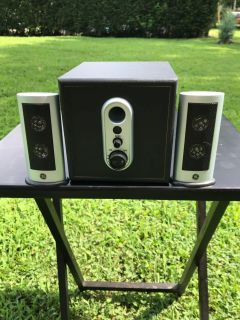 GE Computer Speakers with Subwoofer