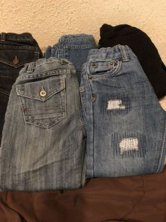 Little boys jeans lot