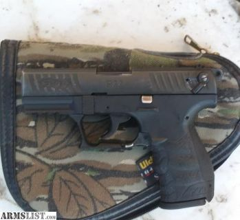 For Sale/Trade: walther p22 $200