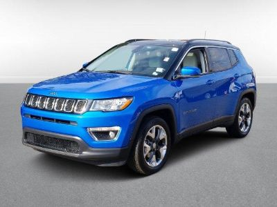 2018 Jeep Compass Limited FWD (Laser Blue Pearl Coat)