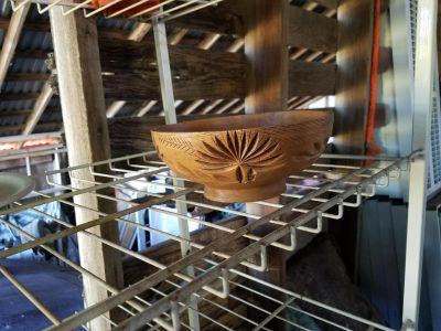 Collectible wooden bowl
