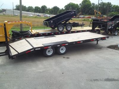 2018 equipment trailer 102x 24 gn 14k