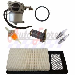 Purchase 4 CYCLE GAS GOLF CART TUNE UP KIT MEDALIST EZGO TXT CARBURETOR FILTER SPARK PLUG motorcycle in Lapeer, Michigan, United States, for US $58.75