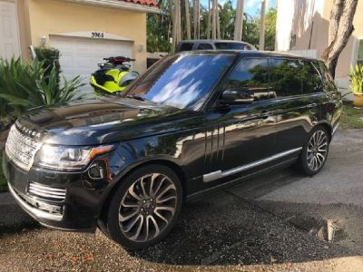 2014 RANGE ROVER AUTOBIOGRAPHY LWB LIKE NEW