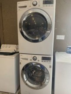 LG washer and dryer electric