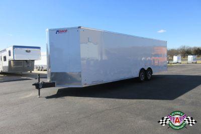 2020 Pace American 28' Cargo Sport Vee Nose Car Hauler