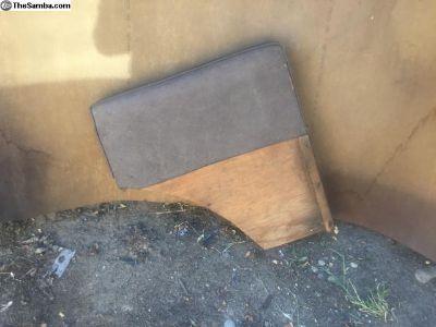 American camper seat cushion bed