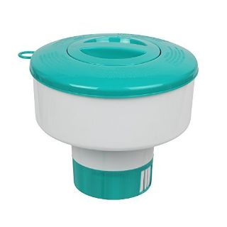 Pro Pool Chemical Dispenser Offers Strong Floating Chlorine Dispenser for Indoor & Outdoor Swimm...